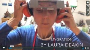 Laura Deakin making contemporary jewellery series Myggration